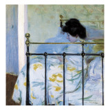 Woman Seated on the Bed
