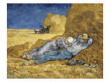 Noon  or the Siesta  after Millet