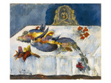 Still Life with Exotic Birds