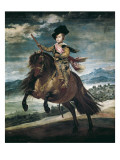 Prince Balthasar Carlos on Horseback