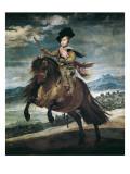 Prince Balthasar Carlos on Horseback