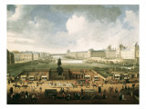 The Louvre and the Seine from Pont Neuf
