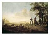 Horsemen and Herdsmen with Cattle