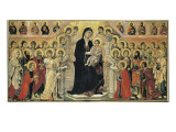 Maest&#224; (Madonna with Angels and Saints)