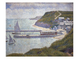 Harbour at Port-En-Bessin at High Tide