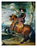 Equestrian Portrait of the Count-Duke of Olivares  Gaspar De Guzmán Y Pimentel