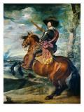 Equestrian Portrait of the Count-Duke of Olivares  Gaspar De Guzmán Y Pimentel