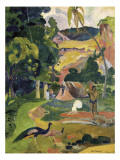 Matamoe or Landscape with Peacocks