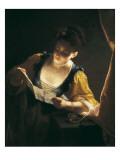 Young Woman Reading a Letter (Jeune Fille Lisant Une Lettre)
