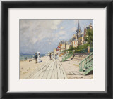 Beach at Trouville  1870
