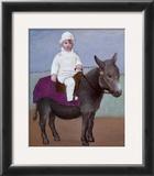 Paulo on a Donkey