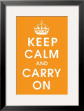 Keep Calm (orange)