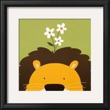 Peek-a-Boo IX  Lion