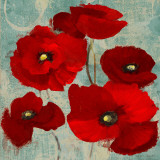 Kindle's Poppies I