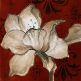 Amaryllis on Red II