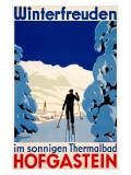Winterfreuden Giclée