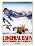 Jungfrau Bahn Giclée