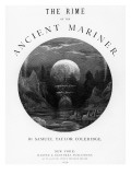 Title Page from 'The Rime of the Ancient Mariner' by ST Coleridge  Published by Harper and Brothe