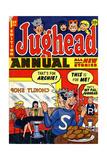 Archie Comics Retro: Jughead Annual Comic Book Cover No1 (Aged)