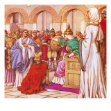 Brunehilda  Queen of the Burgundians  Expelled Columbanus for Preaching Against Luxury of Her Court
