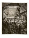 Billingsgate - Early Morning  from 'London  a Pilgrimage'  Written by William Blanchard Jerrold