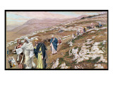 Jesus on His Way to Galilee  Illustration for 'The Life of Christ'  C1886-96