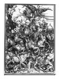 The Four Horsemen of the Apocalypse  from the Apocalypse or the Revelation of St John  C1497-98