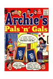 Archie Comics Retro: Archie's Pals 'n' Gals Comic Book Cover 6 (Aged)