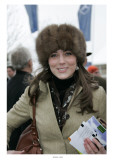 Kate Middleton at the Cheltenham Festival on Gold Cup Day