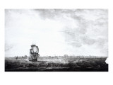 A View of Charles-Town  the Capital of South Carolina  Engraved by Samuel Smith  1776