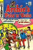 Archie Comics Retro: Archie's Pals 'n' Gals Comic Book Cover 41 (Aged)