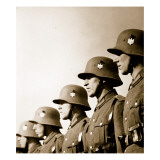 German Soldiers  from 'Germany: the Olympic Year'  Pub by Volk Und Reich Verlag Berlin  1936