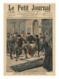 Drunkards in Berlin  Illustration from 'Le Petit Journal'  Supplement Illustre  17th March 1907