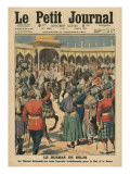 Delhi Durbar  Illustration from 'Le Petit Journal'  Supplement Illustre  24th December 1911