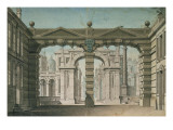 Set Design for the World Premiere Performance of 'Idomeneo'  by Wolfgang Amadeus Mozart in Munich