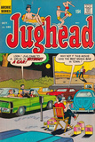 Archie Comics Retro: Jughead Comic Book Cover No185 (Aged)