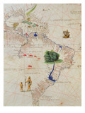 South America  from an Atlas of the World in 33 Maps  Venice  1st September 1553