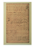 Autograph Manuscript  Cantata Bwv 180 &#39;schmucke Dich O Liebe Seele&#39; by JS Bach