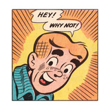 Archie Comics Retro: Archie Comic Panel; Hey! Why Not (Aged)