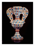 Tin-Glazed Vase with Lustre Decoration  Hispano-Moresque  Valencia  3rd Quarter of 15th Century