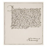 Letter from Cranmer to Cromwell Thanking Him for Obtaining the King's Authority