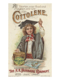 shorten Your Food and Lengthen Your Life'  Advertisement for Fairbank's Cottolene  1896