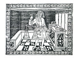 Money Changer  Illustration from 'Libro Di Givocho Di Scacchi' by Jacobus De Cessolis  1493