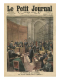 Trial of the Camorra  Illustration from &#39;Le Petit Journal&#39;  Supplement Illustre  26th March 1911