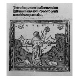 An Astronomer Stargazing  from 'Introductorium in Astronomiam'  Published in Venice 1506