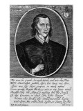Portrait of John Donne  Dated 1591  Frontispiece to 'The Poems of John Donne'  Published 1942