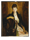 Portrait of Alice Sophia Caroline Stuart Wortley  the Artist&#39;s Daughter  1887