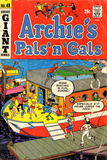 Archie Comics Retro: Archie's Pals 'n' Gals Comic Book Cover 48 (Aged)