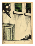 A Bourgeois Fires from His Window on a Passerby  from 'Crimes and Punishments'