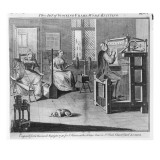 The Art of Stocking-Frame-Work-Knitting  Engraved for the 'Universal Magazine' 1750